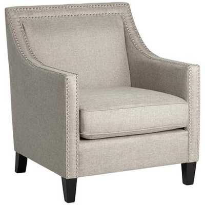 Flynn Heirloom Gray Accent Chair - Lamps Plus
