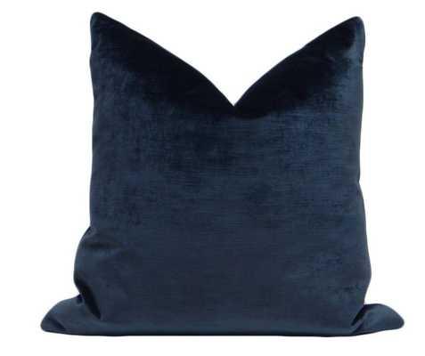 Sonoma Velvet // Navy Blue - Little Design Company