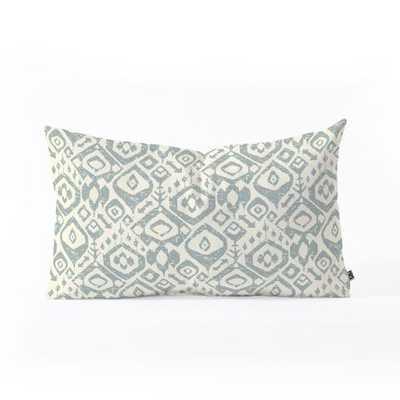 LEZAT DAPPLE Oblong Throw Pillow - Wander Print Co.