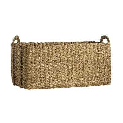 Braided Console Basket - West Elm