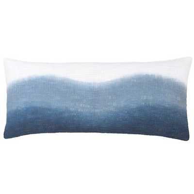 "BREAKWATER BLUE DECORATIVE PILLOW - 15"" Lumbar: 15"" x 35"" - Pine Cone Hill"