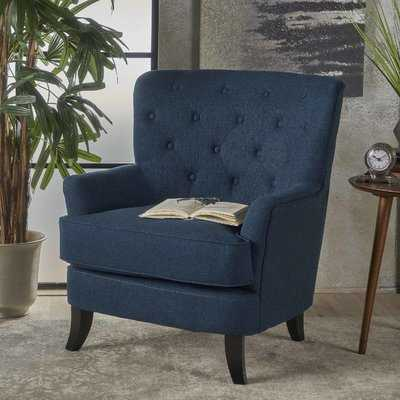 Amini Club Chair - Navy Blue - Wayfair