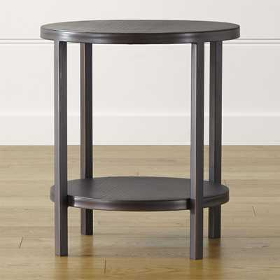 Echelon Round Side Table - Crate and Barrel