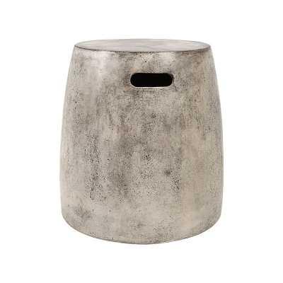 Hive Stool In Polished Concrete - Rosen Studio