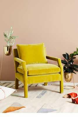Velvet Delaney Chair - Anthropologie
