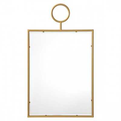 Ring Wall Gold Mirror - Zuri Studios
