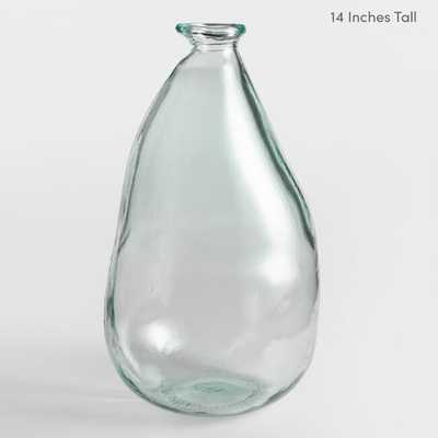 "Clear Barcelona Vases - Glass - 14"" by World Market 14"" - World Market/Cost Plus"