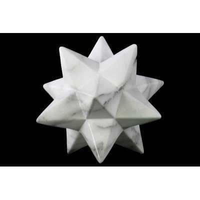 12 Point Stellated Icosahedron Sculpture - Wayfair