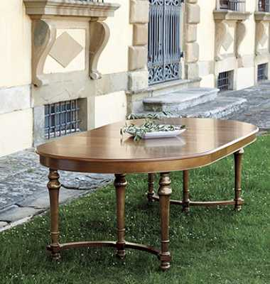 CASA FLORENTINA FARNESE DINING TABLE - STOCKED - Ballard Designs