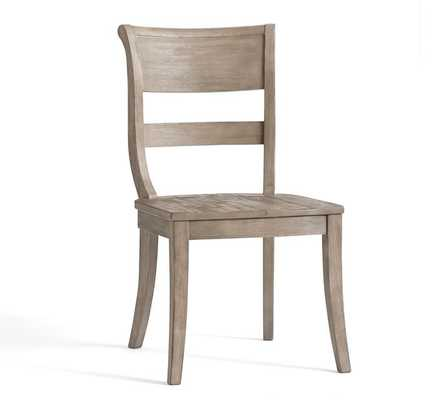 Bradford Side Chair, Grey Wash - Pottery Barn