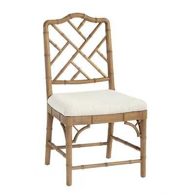 Set of 2 Dayna Side Chairs - Natural Oak - Ballard Designs