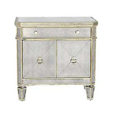 Borghese Mirrored Side Chest - Z Gallerie