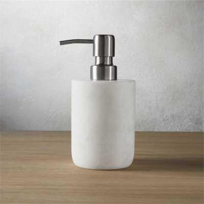 marble soap pump - CB2