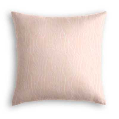 Tobi Fairley Rivers - Blush, with POLY insert - Loom Decor