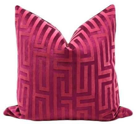 Velvet Maze // Cerise - Little Design Company