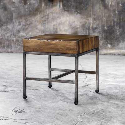 Delsin, End Table - Hudsonhill Foundry