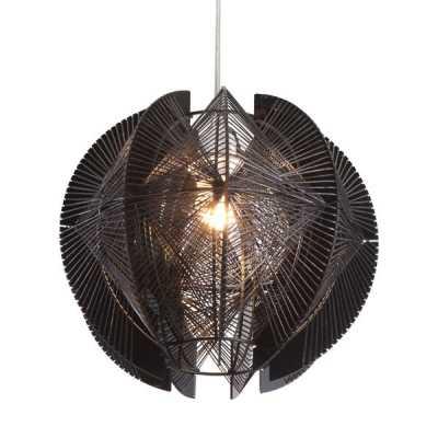 Centari Single Ceiling Lamp Black - Zuri Studios