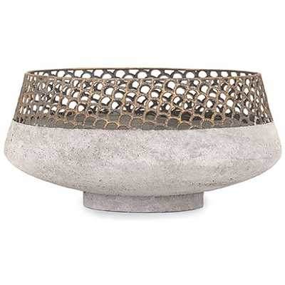 Rowan Metal Bowl - Mercer Collection