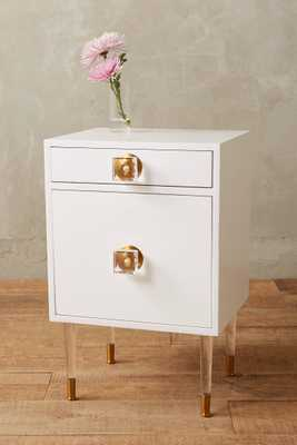Lacquered Regency Nightstand - Anthropologie
