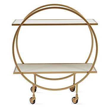 Russo Bar Cart - Z Gallerie