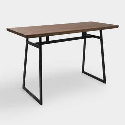 Metal and Wood Matthias Counter Height Dining Table by World Market - World Market/Cost Plus