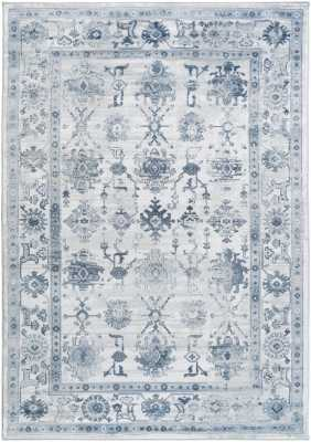 "ELLIS RUG, SKY BLUE AND IVORY - 7'8"" x 10'6"" - Lulu and Georgia"