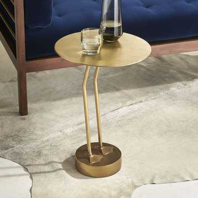 Brass Bird Side Table - CB2