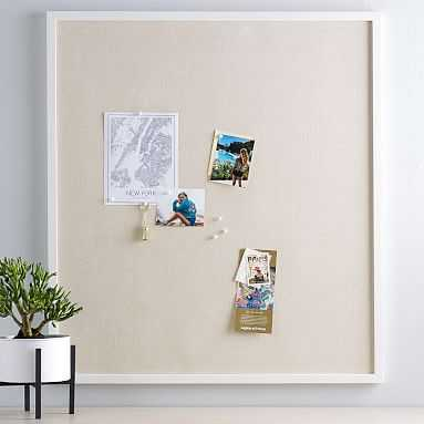 No Nails Oversized Framed Pinboard, Pinboard - Pottery Barn Teen