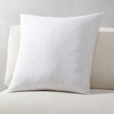 """20"""" feather-down pillow insert"" - CB2"