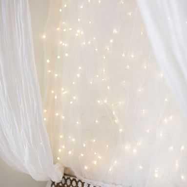 Fairy Light Canopy - Pottery Barn Teen