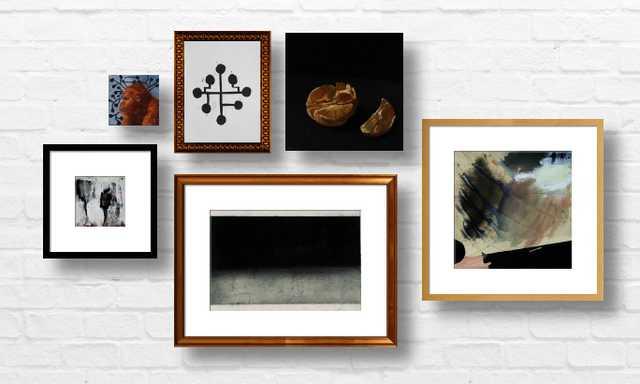 Contemplative Sophistication - 6 piece Art Prints - Artfully Walls
