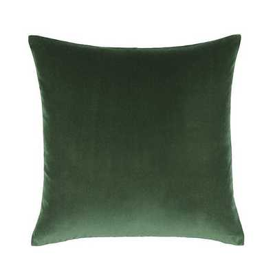 "SIGNATURE VELVET & LINEN PILLOW - 20"" - Ballard Designs"