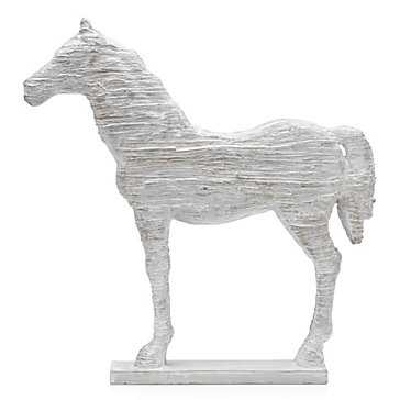 Faux Driftwood Horse - Z Gallerie
