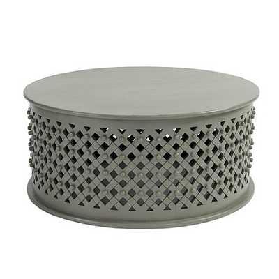 Bornova Coffee Table - Warm Gray - Ballard Designs