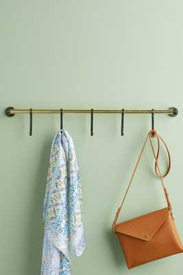 Lusso Hook Rack - Anthropologie