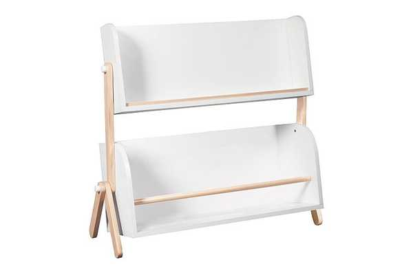 Storage and Bookshelf - White with Washed Natural - Babyletto