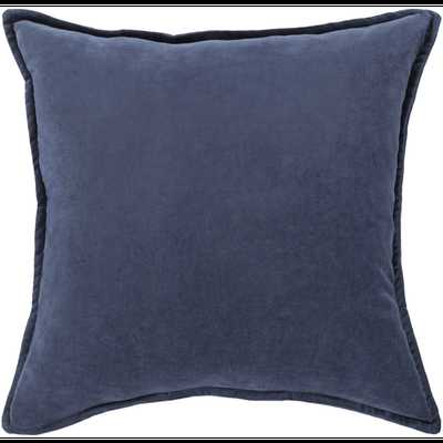 """Cotton Velvet Pillow - 20"""" with poly insert - Neva Home"""