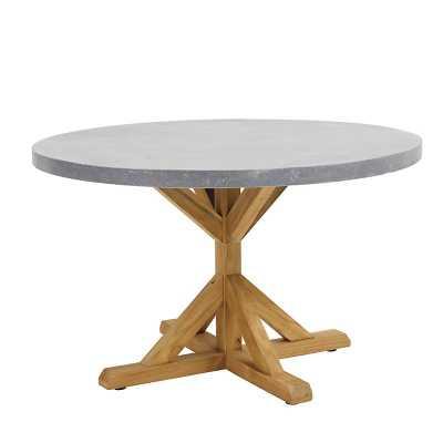 """Ballard Designs Suzanne Kasler Orleans 48"""" Round Pedestal Dining Table - Ballard Designs"""