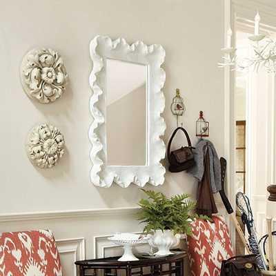 Atoll Rectangular Mirror with Clear Glass - Ballard Designs