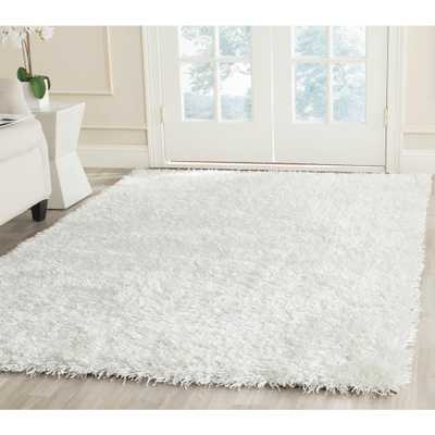 New Orleans Shag Off White 6 ft. x 9 ft. Area Rug - Home Depot