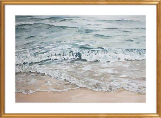 "Clearwater - FINAL FRAMED SIZE: 44""x32"" - Artfully Walls"
