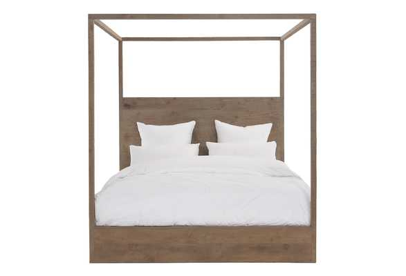 Latrobe Canopy Bed, Natural - One Kings Lane