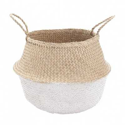Large Dipped Belly Basket - Domino