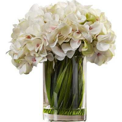 Collingwood Hydrangea Acrylic Water Vase - Wayfair