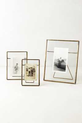 Pressed Glass Photo Frame - Anthropologie