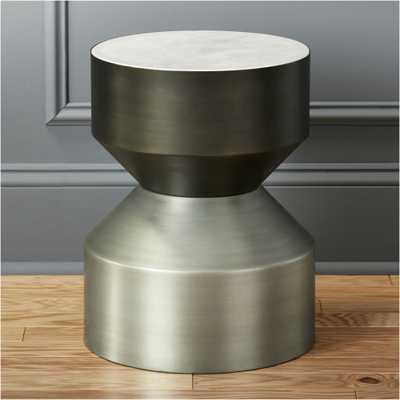 silo tall side table - CB2