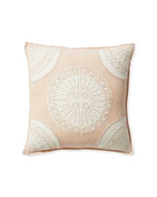 Lucia Pillow Cover - Pink Sane - Serena and Lily