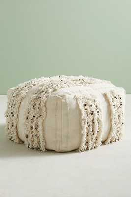 Moroccan Wedding Pouf - Anthropologie
