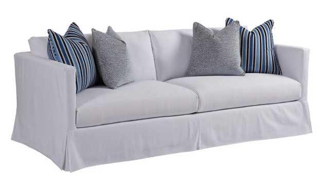 Marina Slipcover Sofa - Perigold
