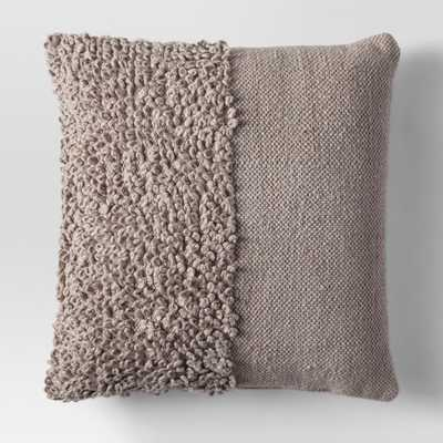 Solid Textured Throw Pillow - Project 62 - Tan - Target